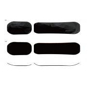 G-2 Board set [Hard] black polygon